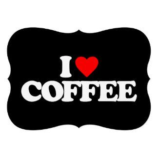 I LOVE COFFEE ANNOUNCEMENT
