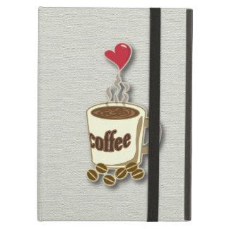 I Love Coffee iPad Air Cover