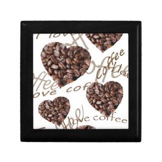 """I Love Coffee!"" Keepsake Box"