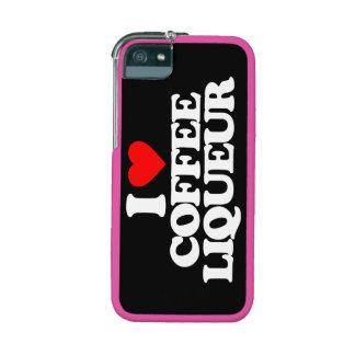 I LOVE COFFEE LIQUEUR iPhone 5 COVERS