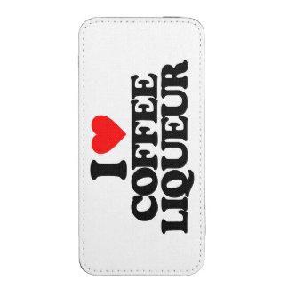 I LOVE COFFEE LIQUEUR iPhone 5 POUCH