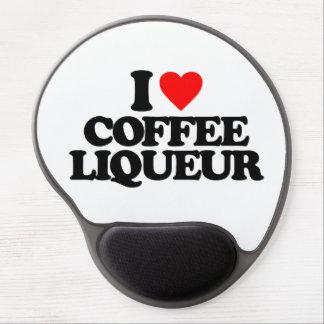 I LOVE COFFEE LIQUEUR GEL MOUSE PADS