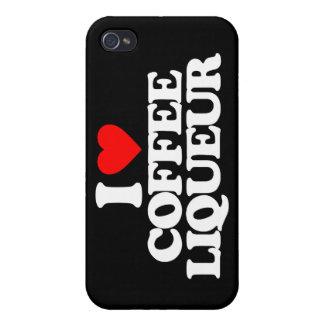 I LOVE COFFEE LIQUEUR iPhone 4/4S CASES