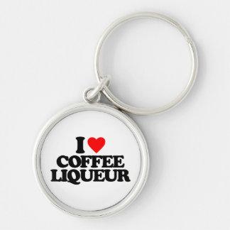 I LOVE COFFEE LIQUEUR KEY CHAINS