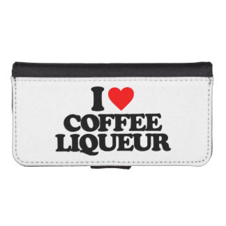 I LOVE COFFEE LIQUEUR iPhone 5 WALLET CASES