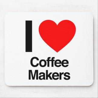 i love coffee makers mousepads