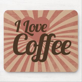 I love coffee mouse pad
