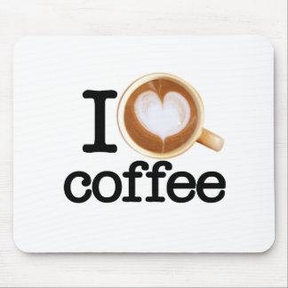 I Love Coffee Mousepad