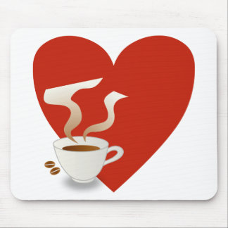 i love coffee - mousepad