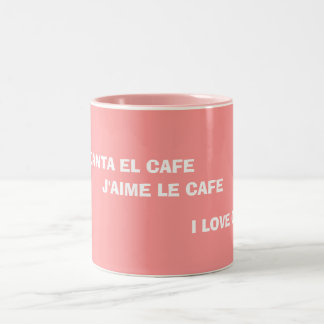 """I Love Coffee"" Mug"