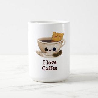 I love Coffee Classic White Coffee Mug