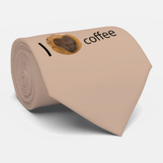 I love coffee neck tie
