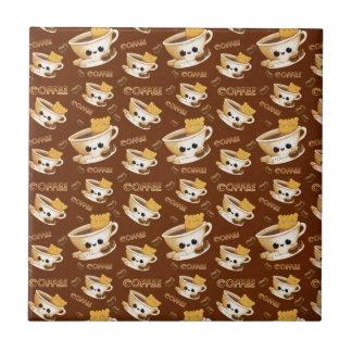 I love Coffee Pattern Ceramic Tiles