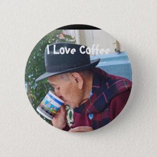 I Love Coffee Pinback Button