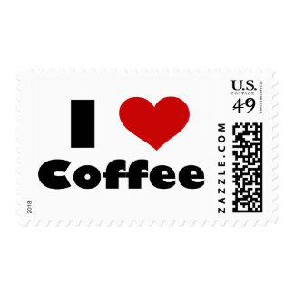 I Love Coffee Stamps
