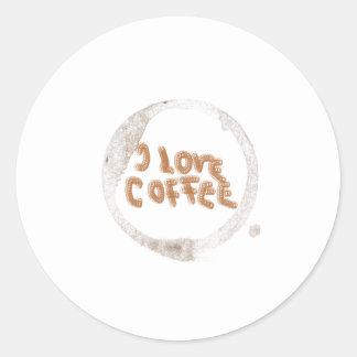 I love coffee! stickers