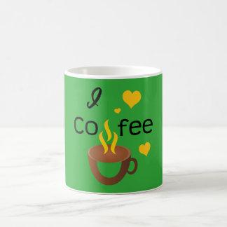 I love coffee super hot and funny mug