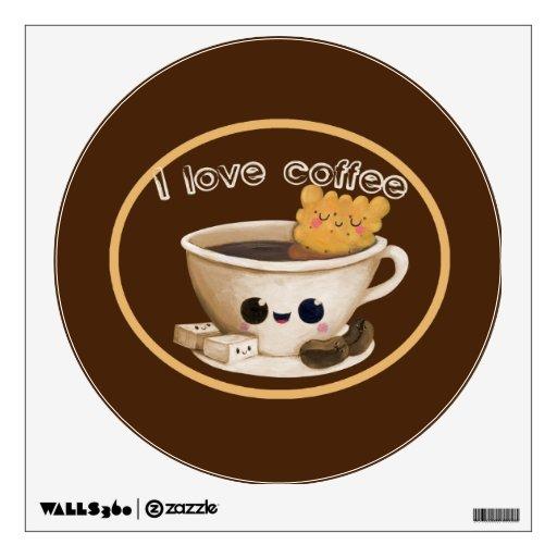 I love Coffee Wall Skin