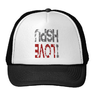 i love cogcog cog pushups mesh hats