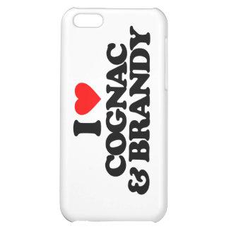 I LOVE COGNAC & BRANDY CASE FOR iPhone 5C