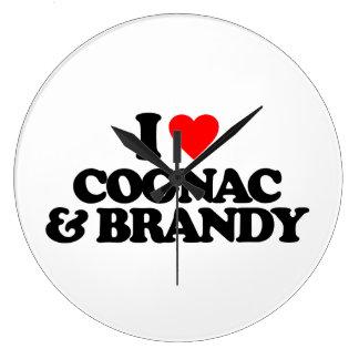 I LOVE COGNAC BRANDY CLOCKS