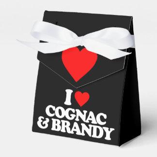 I LOVE COGNAC & BRANDY PARTY FAVOR BOXES