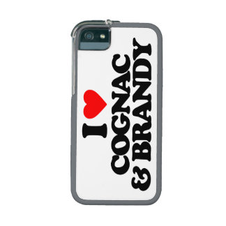 I LOVE COGNAC & BRANDY iPhone 5 CASES