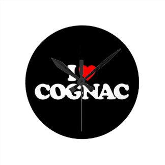 I LOVE COGNAC WALL CLOCKS