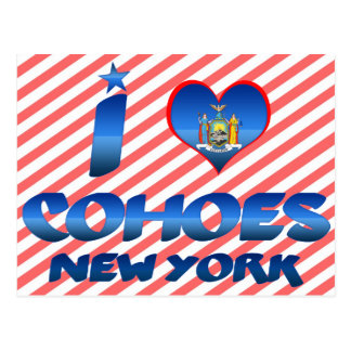 I love Cohoes, New York Postcard