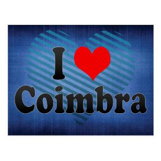 I Love Coimbra, Portugal Postcard