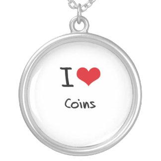 I love Coins Custom Necklace