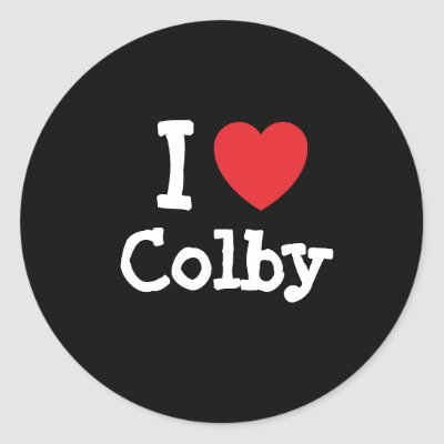 I love Colby! Custom Colby t-shirts ! Show Colby how much you love him with