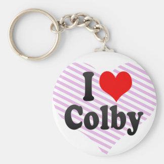 I love Colby Keychain