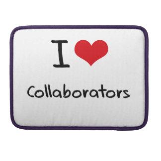 I love Collaborators MacBook Pro Sleeves