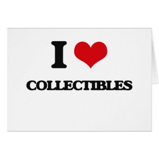 I love Collectibles Card