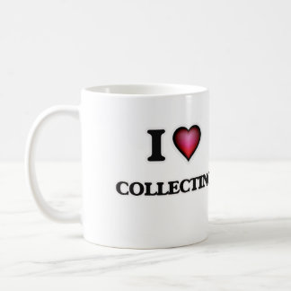 I Love Collecting Coffee Mug