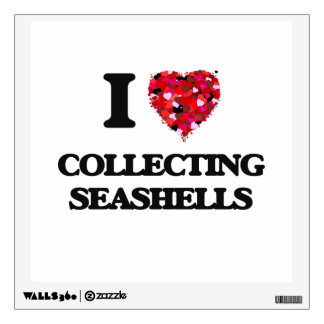I love Collecting Seashells Room Decal