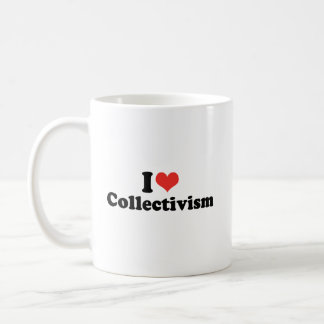 I LOVE COLLECTIVISM - .png Classic White Coffee Mug