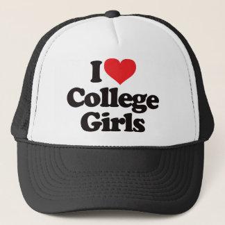I Love College Girls Trucker Hat