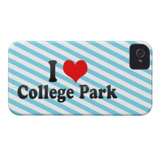 I Love College Park, United States iPhone 4 Case