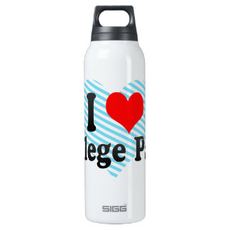 I Love College Park, United States 16 Oz Insulated SIGG Thermos Water Bottle