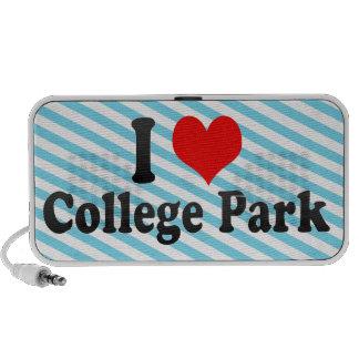 I Love College Park, United States Portable Speaker