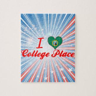 I Love College Place, Washington Puzzles