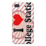 I Love College Station, United States Cases For iPhone 4