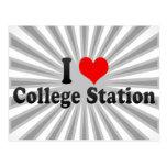 I Love College Station, United States Postcard
