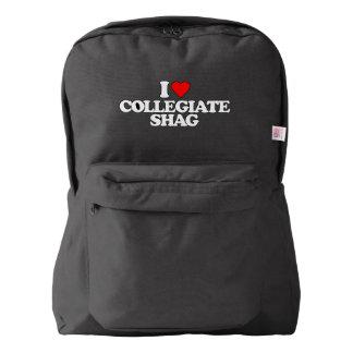 I LOVE COLLEGIATE SHAG AMERICAN APPAREL™ BACKPACK