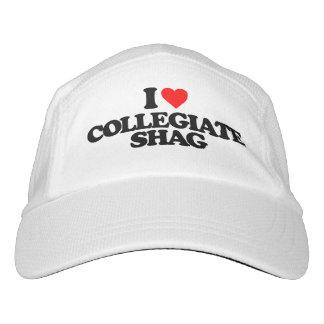 I LOVE COLLEGIATE SHAG HAT
