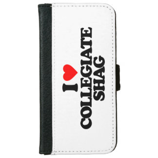 I LOVE COLLEGIATE SHAG iPhone 6/6S WALLET CASE