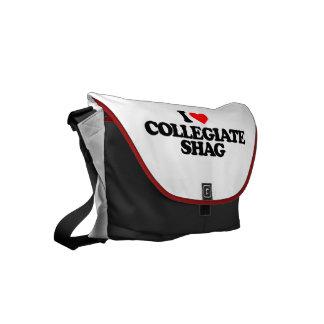 I LOVE COLLEGIATE SHAG SMALL MESSENGER BAG