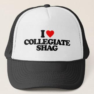 I LOVE COLLEGIATE SHAG TRUCKER HAT